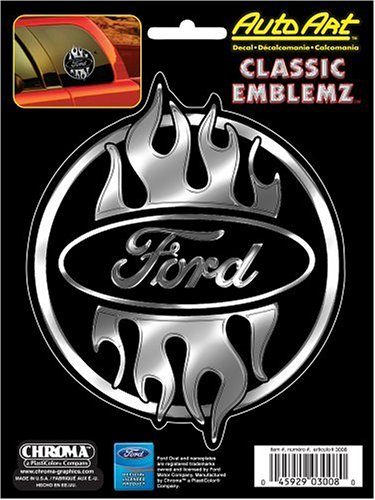 Chroma 3008 Ford Classic Emblemz Decal ()
