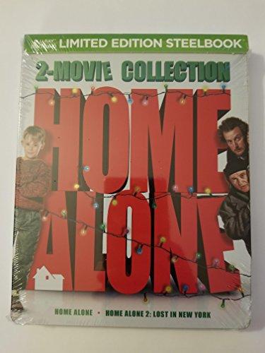 Home Alone / Home Alone 2 Blu-ray SteelBook