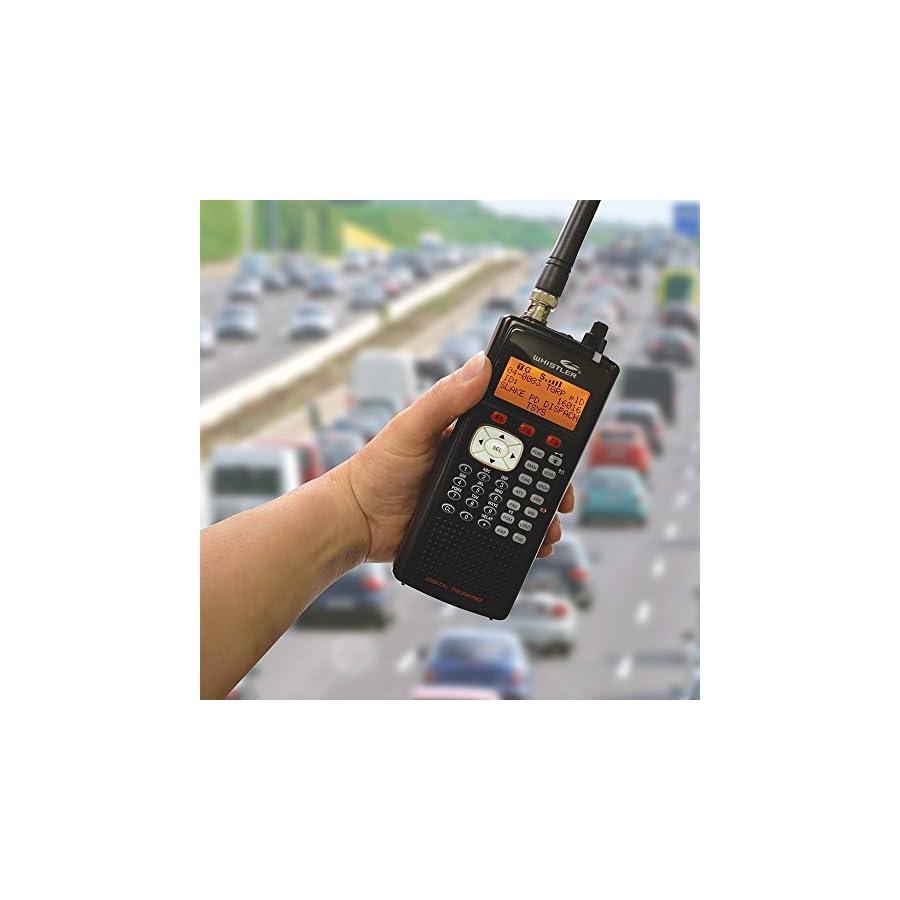 Whistler Digital Handheld Scanner