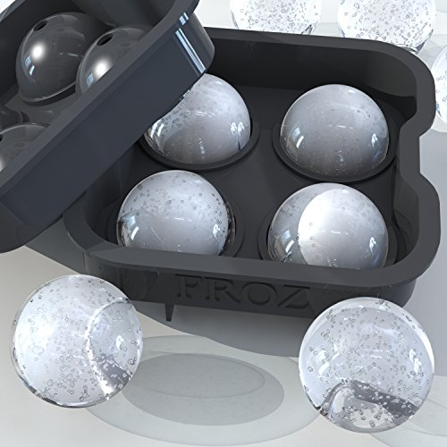 froz-ice-ball-maker-novelty-food-grade-silicone-ice-mold-tray-with-4-x-45cm-ball-capacity