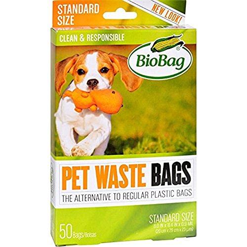 - BioBag Pet Waste Bags, 50 Count