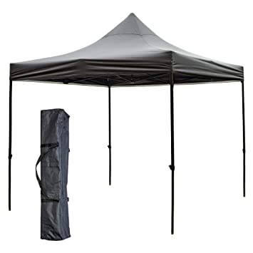 SNAIL 10 x 10 Pop Up Canopy Foldable Quick Set Canopy with 420D Top Portable Event  sc 1 st  Amazon.com : portable pop up canopy - memphite.com