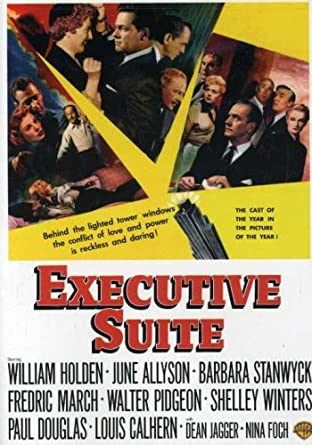 Image result for executive suite poster amazon