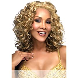 CANDI-V (Vivica A. Fox) – Synthetic Lace Front Wig in JET BLACK