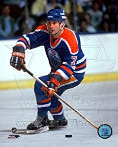 Paul Coffey Edmonton Oilers NHL Action Photo 8x10