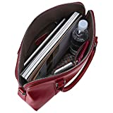 S-ZONE Women's Genuine Leather Handbags Slim