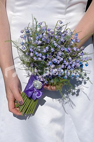 Amazon Com Silk Blooms Ltd Gorgeous Artificial Lilac Blue