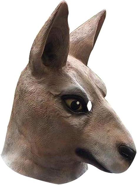 Fhxr Máscara De Canguro, Arnés De Animales Arnés De Látex Infantil ...