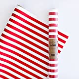 Home by Becky Higgins Stone Wrap, Red/White Stripes