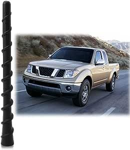 """1998-2019 Nissan Frontier **SHORT**  4/"""" BLACK ALUMINUM ANTENNA MAST FITS"""