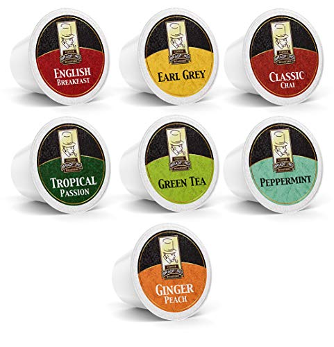 Bradford Tea - 48 Ct. Tea Variety K-Cup Pods, Compatible with 2.0 K-Cup Brewers (Keurig Tea K Cups Peach)