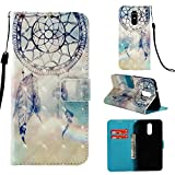 Shinyzone Wallet Flip Cover for LG Stylo 4/LG Q Stylus,Dreamcatcher 3D Colorful Painting 2 in 1 Book Style Leather Case with Card Holder and Magnetic Buckle Stand Cover