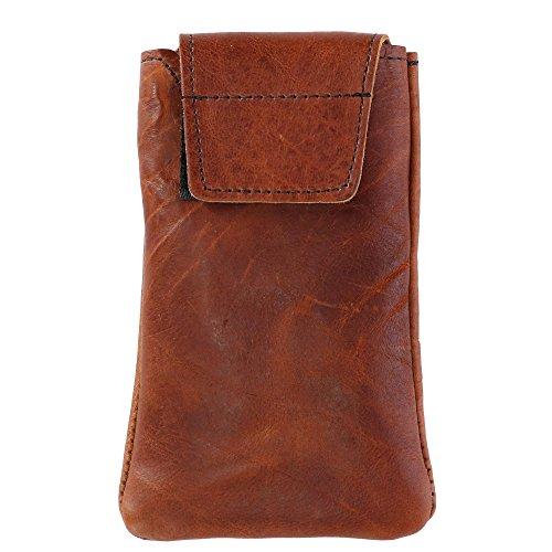 Boston Leather Textured Bison Leather Eyeglass Case, Tucson by Boston Leather (Image #1)