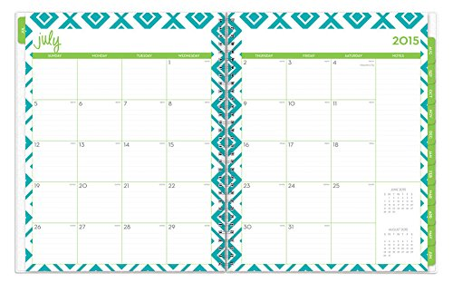 July 2015 - June 2016 Dabney Lee Lucy Weekly/Monthly Planner 8.5x11