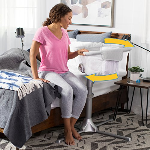 HALO Bassinest Swivel Sleeper – Silver River Stone by Halo (Image #4)