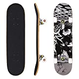Hikole Adult Kids Skateboard Complete - Profession Wood Skate Board 31