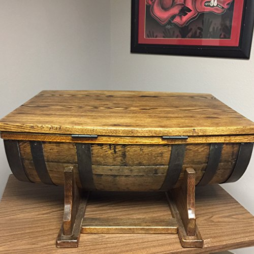 Amazoncom Whiskey Barrel Coffee Table Kitchen Dining