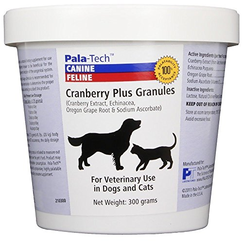 Pala Tech Cranberry Plus Granules for Dogs Cats, 300g