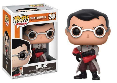 Funko Pop Games: Team Fortress 2 - Medic Collectible Vinyl Figure ()