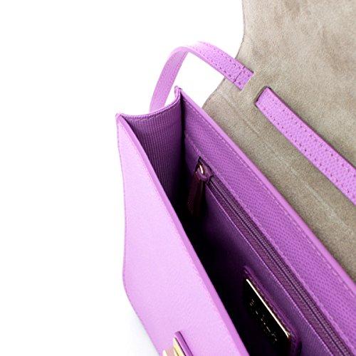 Bolso de mano Furla Metropolis en piel lila