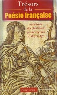 Trésors de la poésie française par Pierre Ripert