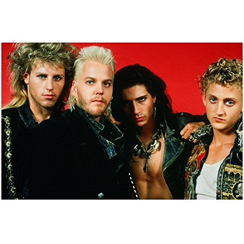 Childs Billy Collection (The Lost Boys Brooke McCarter, Kiefer Sutherland, Billy Wirth, and Alex Winter 8 x 10 Inch Photo)