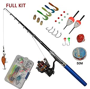 Amazon.com: Carbon Fiber Pen Fishing Rods and Spinning ...