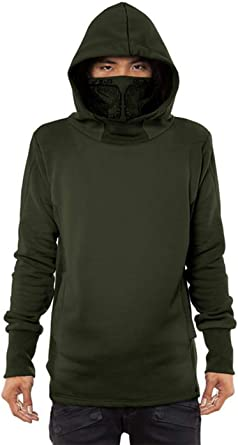 Turtle Mens Front Pocket Pullover Cotton Hoodie Sweatshirts
