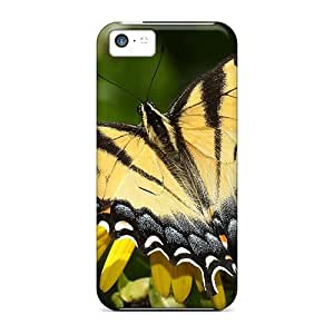 Brand New 5c Defender Case For Iphone (beautiful Butterflie)