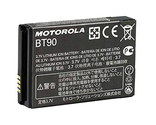 Motorola HKNN4013A - BT90 High-Capacity 1800 mAh Li-Ion Battery Compatible with CLP1010 CLP446 CLP1040 SL7550 CLP1060