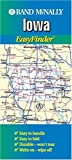 Rand McNally Iowa Easyfinder Map