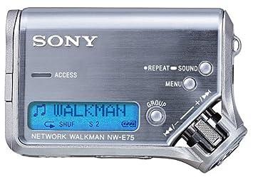 SONY NETWORK WALKMAN NW E75 TREIBER WINDOWS 8