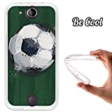 Becool® - Cover Gel Flexible Acer Jade S Jade Z, TPU Case made out of the best Silicone, protects and adapts flawlessly to your Smartphone, together with our exclusive designs. Football Liquid Effect