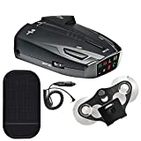 Cobra ESD7570 9-Band Performance Radar/Laser Detector with 360 Degree Detection with Car Mat Bundle