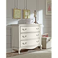 Hillsdale Kids and Teens 20505 Kensington 3 Drawer Dresser, Antique White