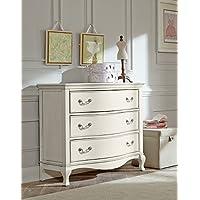 Hillsdale Kids and Teens 20505 Kensington 3 Drawer Dresser, Antique White