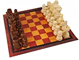 Set of Complete Wooden Chess Pawns, Wooden Replacement Chess Pieces Sets