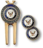 Armed Forces Depot U.S. Navy Divot Tool and Ball Markers