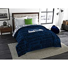 NFL Seattle Seahawks Bedding Set, Twin