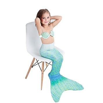Bañador Mujer Traje De Bano Sirena,Conjunto con Cola De ...