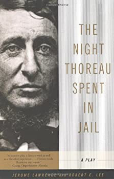 The Night Thoreau Spent in Jail: A Play 0553209639 Book Cover