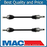 2 New REAR Complete CV Drive Axle Shaft For 05-10 Chrys 300 REAR WHEEL DRIVE