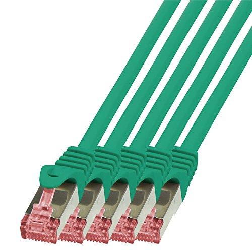 0,15m Netzwerkkabel Patchkabel Ethernet LAN DSL Patch Kabel Gigabit blau BIGtec 2X RJ-45 Anschlu/ß, CAT6, doppelt geschirmt 0,15 Meter 5 St/ück