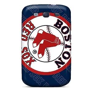 AlissaDubois Samsung Galaxy S3 Bumper Cell-phone Hard Cover Provide Private Custom Lifelike Boston Red Sox Skin [xQE14017fwGf]