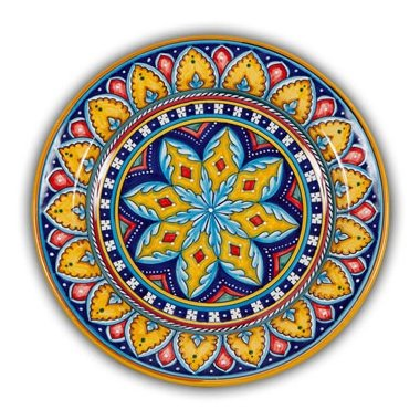 Deruta Hand Painted Italian Ceramic Geometrico Charger Plate  sc 1 st  The Perfect Gift Store ⋆ Perfect Gift Store & Deruta Italian Hand Painted Ceramics - Maiolica or Majolica