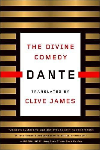 Amazon Com The Divine Comedy Ebook Dante Alighieri Clive James