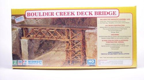 Boulder Creek Deck Bridge