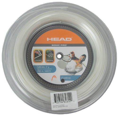 Head Tennissaite Sonic Pro 200m, weiß, 1,30 mm