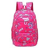 On Sale!!!HYIRI Women's Backpack Girls Letter Printing School Shoulder Backpack Female Students Bags