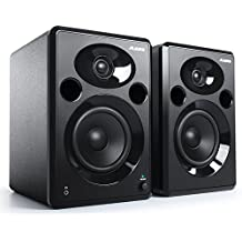Alesis ELEVATE 5 MKII   Powered Desktop Studio Speakers for Home Studios/Video-Editing/Gaming and Mobile Devices
